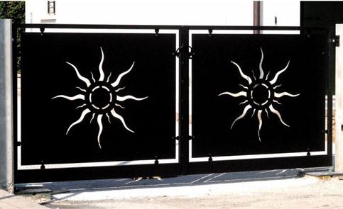 Cancelli inalfer industria porte e finestre for Disegni per cancelli