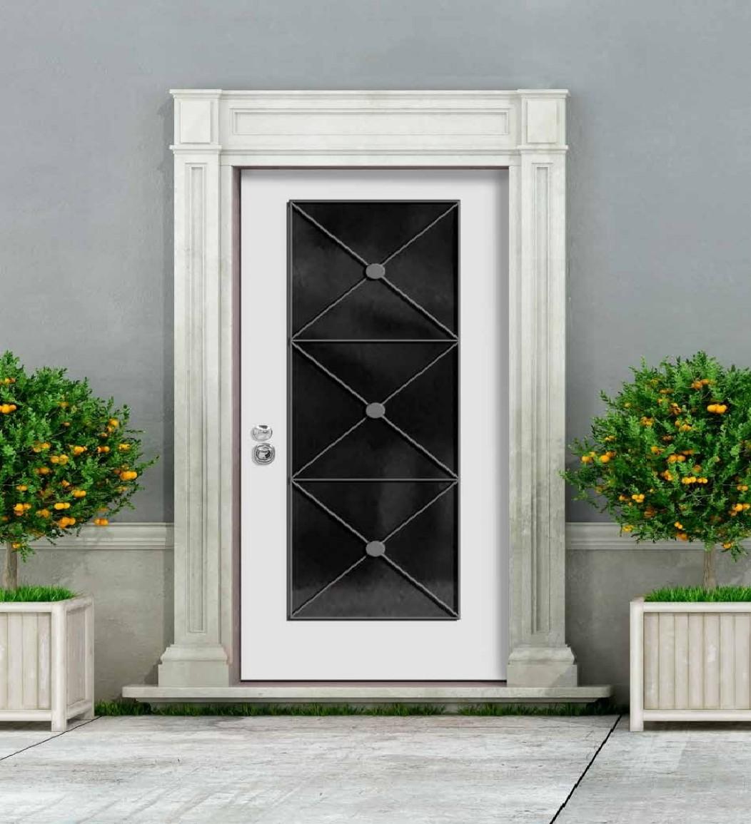 Porte blindate con vetro inalfer industria porte e finestre - Porte e finestre blindate ...